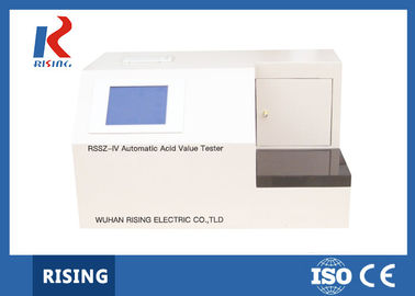 RSSZ-IV Automatic Acid Value Tester Repeatability ≤0.005mg KOH/g