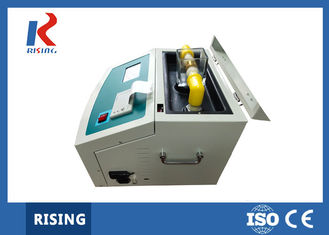 RSJY-80 Transformer Oil Testing Equipment , Transformer Oil Dielectric Strength Tester